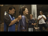 Alice being prepared for the climax scene