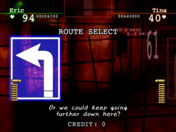 Route select
