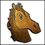 Huey the Horse Pin