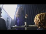 Happy Jodelle as Alessa on the set