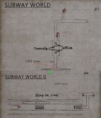 Subway World G.W.
