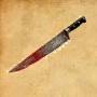 Sh bom bloody knife
