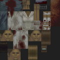 Silent Hill PS1 texture - Puppet Nurse blue - SILENT 0757