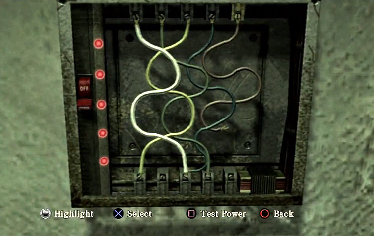 fuse puzzle silent hill wiki fandom powered by wikia rh silenthill wikia com fuse box online game