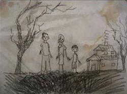 Fridge drawing