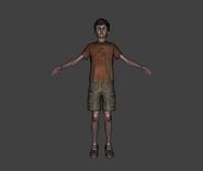 Modelo 3d de Joshua