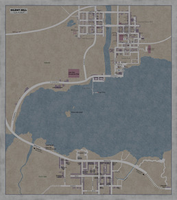 Silent Hill Complete Map by Guy onthe Couch