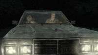 Douglas drives Heather to Silent Hill