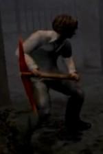 Henry con el zapapico