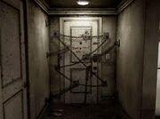 Puerta cadenas