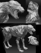Feral 3D Model