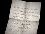 Lettera di Mary