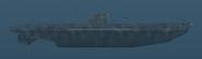 Type IID - U-boat - Right side shot