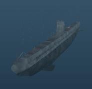 Type IIA - U-boat - Angled front shot
