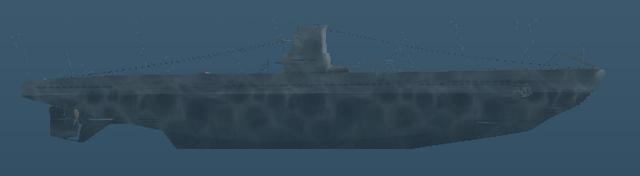 File:Type IIA - U-boat - Right side shot.png