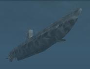 Type IIA - U-boat - Angled front below shot