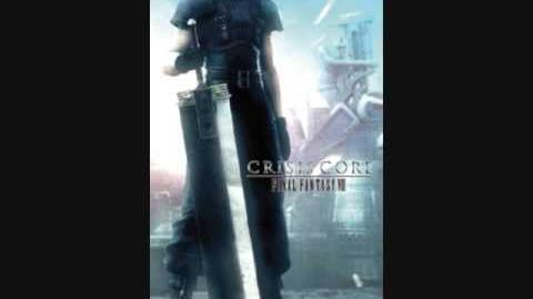 Crisis Core Final Fantasy VII Music A Beating Black Wing