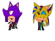Phoenix and Sunny are random
