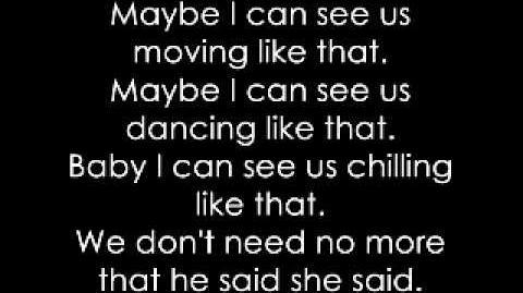 Ashley Tisdale ~ He said She said Lyrics (FULL)
