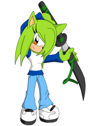 File:Lyra the Hedgehog.png