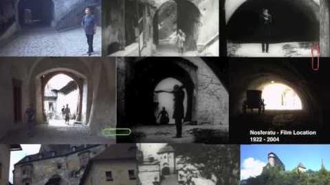 Nosferatu - film location 1922-2004