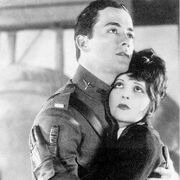 Charles Buddy Rogers and Clara Bow Wings
