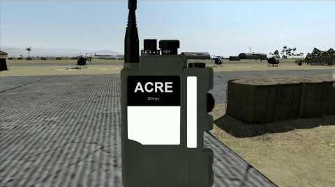 ARMA II ACE + ACRE 343 and 152 Radio Tutorial