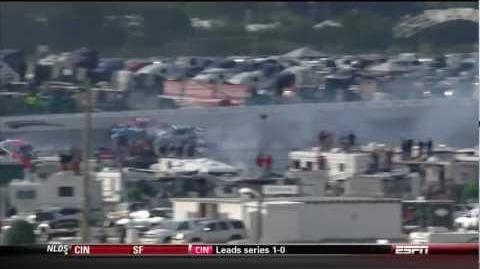 Last Lap 20 car Pileup - Talladega Good Sam 500