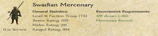 Swadian Mercenary