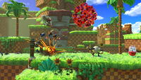 Sonic Forces - Screenshot - Shadow - Green