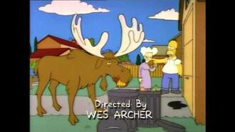 Hey, moose! Shoo! Yeah, I'm talkin' to you! Get off my lawn, now!