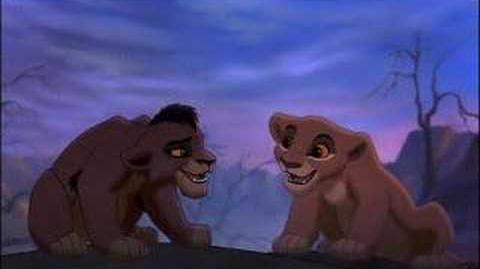 """Lion King II """"Simba's Pride"""" -Kovu and Kiara"""