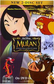 Simba, Timon, and Pumbaa Meets Mulan