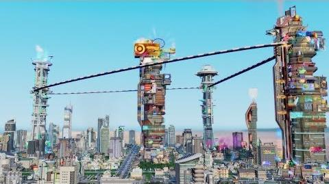 SimCity Cities of Tomorrow Official Launch Trailer