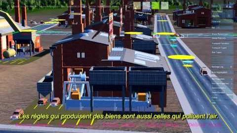 SimCity présentation du moteur GLASSBOX - Partie 2 Le cycle économique