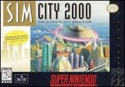 SimCity 2000 (SNES) cover