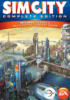SimCity Complete Edition cover