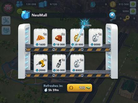 Scbi-neo-mall-menu