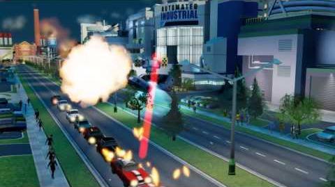 SimCity Edición Limitada - Trailer Héroes y Villanos