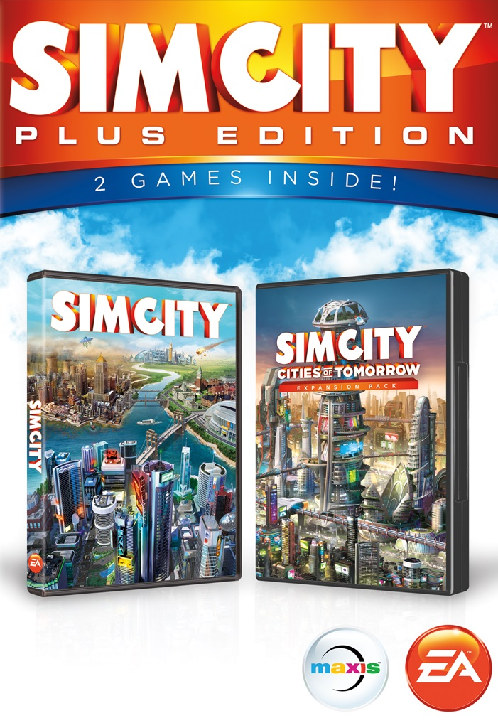 SimCity Plus Edition cover