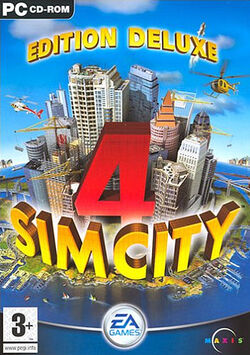 Jaquette SimCity 4 Edition Deluxe