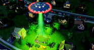 UFO THE GREEN BEAM!