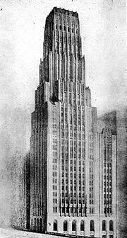 Tribune Tower Second Prize