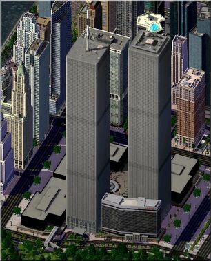 Zeroing Trade Center New