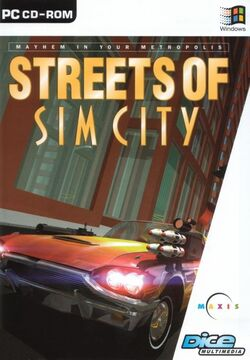 Jaquette Streets of SimCity