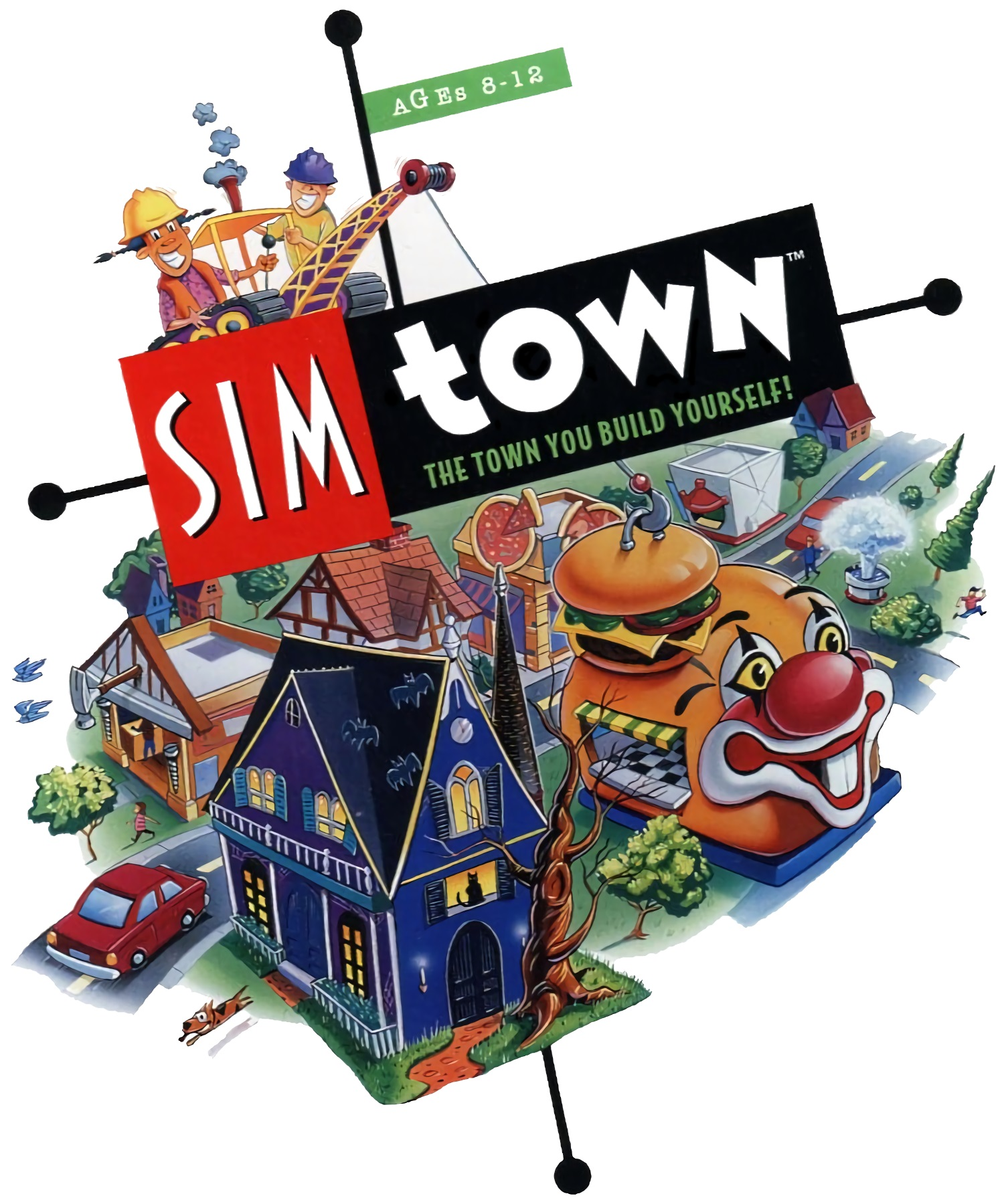 SimTown Coverart