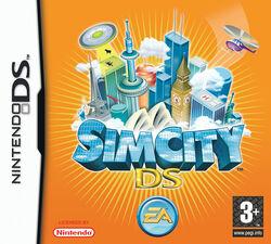 Jaquette SimCity DS
