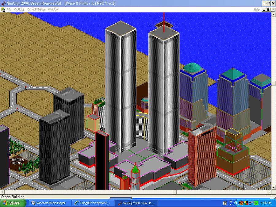 image simcity the world trade center by j dog007 jpg simcity