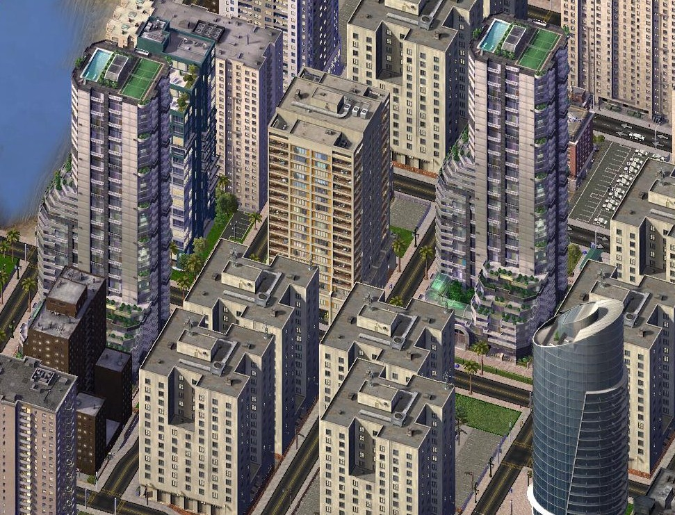 Simcity  Residential Building List