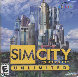 Capa SimCity 3000 Ilimitado